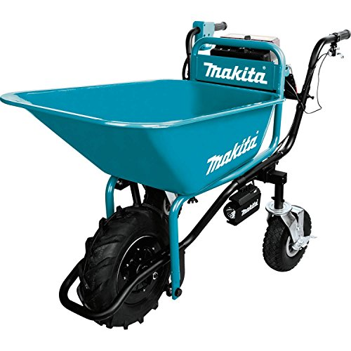 Makita XUC01X1 36V (18V X2) LXT Brushless Power-Assisted Wheelbarrow, Tool Only
