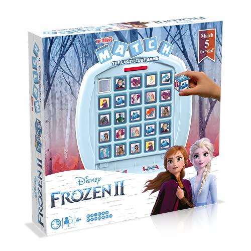 Match Frozen 2 de Top Trumps. Juego de Mesa.