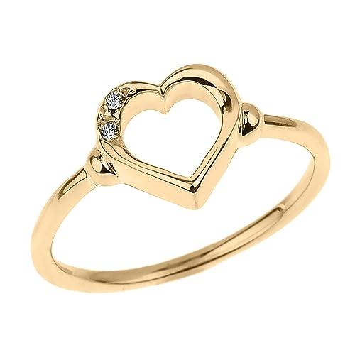 4d73223f00154 10 Karat Gold Ring: Amazon.com