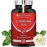 COENZIMA Q10 100 mg | 120 Capsule di Origine Vegetale di Coenzima Q10 Ubichinone | Integratore Naturale Antiossidante, Anti Rughe, Protegge il Sistema Cardiovascolare, Aumenta le Difese Immunitarie | Cura 4 MESI | Registrato presso il Ministero della Salute