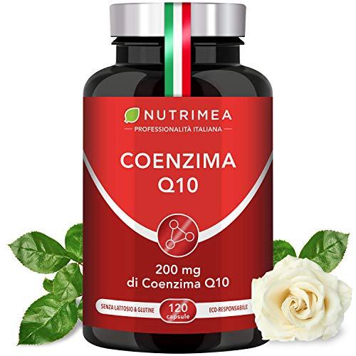 COENZIMA Q10 NUTRIMEA |120 capsule con 100mg di Coenzima Q10 | Altamente Assimilabile | Antiossidante