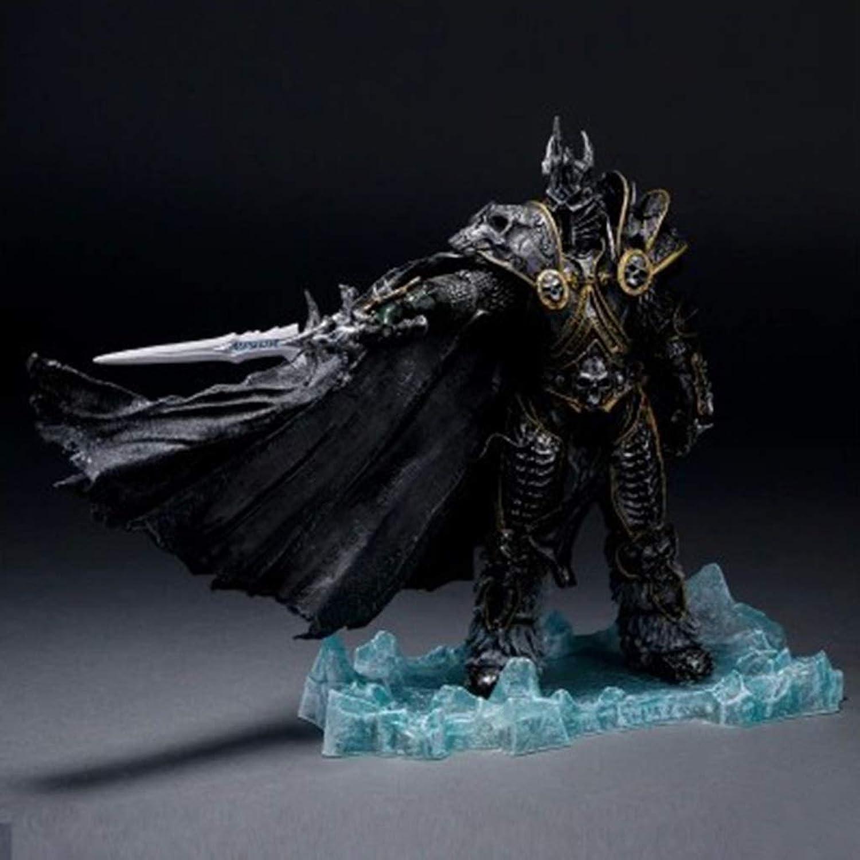 venderse como panqueques WSWJJXB World of Warcraft Lich Lich Lich King Modelo de Mano Recuerdo Colección Artesanía  toma