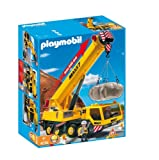Playmobil - 4036 - Jeu de construction - Grue mobile géante