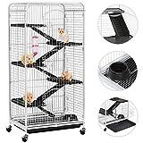 Yaheetech Cage Tower Equipée pour Rongeurs/Cochon...