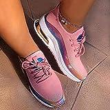 LYYJF Hombre Mujer Zapatillas de Deportivas de Running Casual Antideslizante...