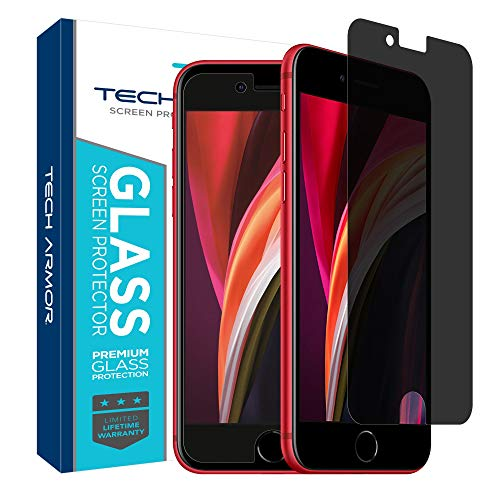 Tech Armor Privacy Ballistic Glass Screen Protector for Apple iPhone 6   6s   iPhone 7   iPhone 8 (4.7-inch) [1-Pack]