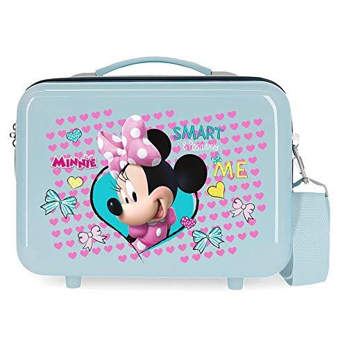 Disney Minnie Happy Helpers Trousse de toilette adaptable Bleu 29x21x15 cms ABS