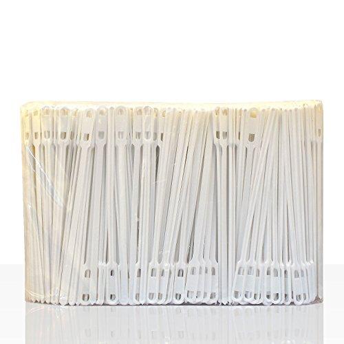 Rührstäbchen weiß 140mm lang 1000Stk, Plastik