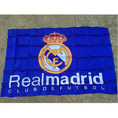 Für Fahnen Fußball-Schal Flagge Verein Banner Wettbewerb Liga Cheer Requisiten Real Madrid-Team Flagge Fußballfans,10 PCS