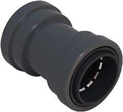 "Southwire LTNM-CP-075 3/4"" Liquid Tight Non-Metallic Push Install LT Coupling, Gray"