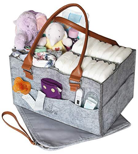 Bonne Vie Baby Diaper Caddy Organizer &...