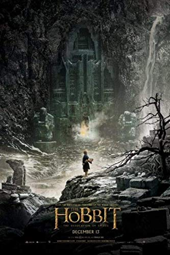 WYFCL Rompecabezas clásico para niños Adultos de 1000 Piezas: el Hobbit: la desolación de los Carteles de películas de Smaug, Juego de Rompecabezas, Regalo de San Valentín para niños y niñas, Regalo