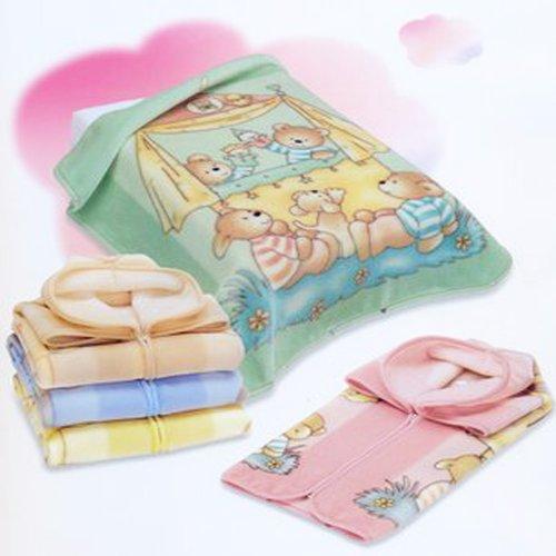Decke Größe Bebe–Baby Tasche Wunderkind 627–THEME Handpuppen grün