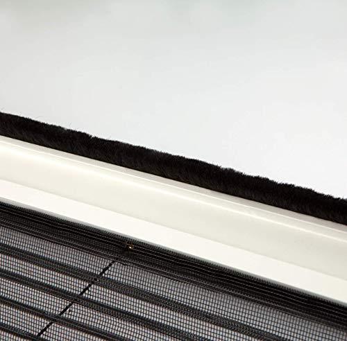 WIP Insektenschutz Fliegengitter Plisseetür 120x240cm, weiß