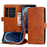 Nokia 6 2018 Leather Case, Nokia 6.1 Wallet Case,Magnetic