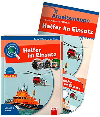 Set: Leselauscher Wissen: Helfer im Einsatz (inkl. CD): inkl. Arbeitsmappe