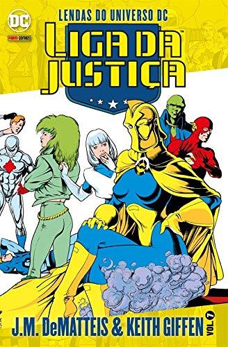 Liga da Justiça. Lendas do Universo Dc Volume 7