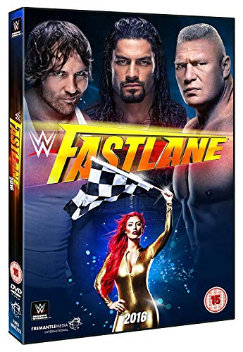 WWE: Fastlane 2016 [DVD] by Brock Lesnar