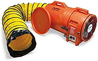 Allegro Industries 9543 25 Plastic Compaxial Blower, Ac with 25' Ducting and Canister Assembly, 12