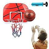 DBREAKS Canasta Baloncesto Infantil, Adecuado para Niños y Niñas de 6 Años(1 Balones)