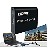 P Panoraxy USB Video Capture Card, 1080PFHD,HDMI to USB, with Loop,for Live Stream,Record, Broadcast,Games, Camcorder