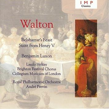 Walton: Belshazzar's Feast ; Henry V Suite