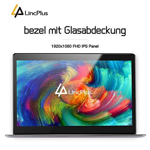 LincPlus 13.3″ FHD Laptop Neueste Intel Celeron 4GB 32GB Bis zu 512 GB Bild 4*