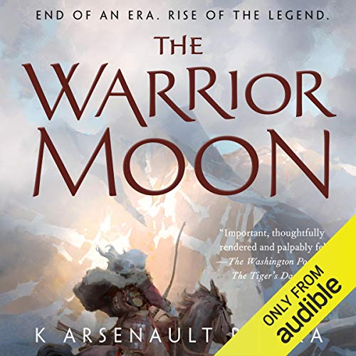 The Warrior Moon audiobook cover art
