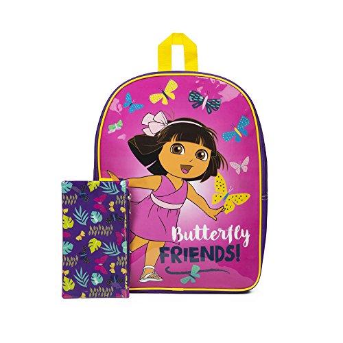 Dora Rucksack Schmetterling Friends mit Federmappe