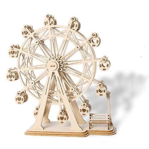YZHY Madera 3D Mechanical Model,Maqueta 3D de Funcionamiento mecánico,Proyectos Divertidos para Adultos y Niños,Gran Regalo para Amantes de Puzzles