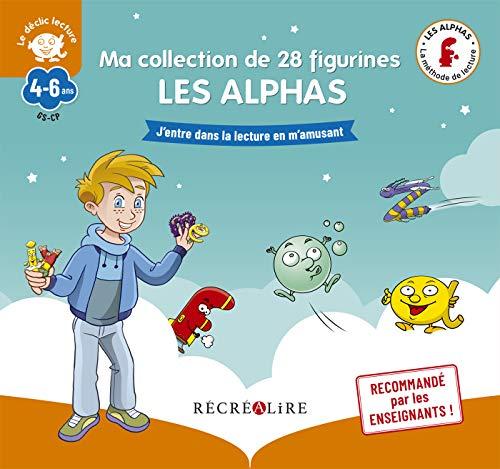 Ma collection de 28 figurines LES ALPHAS - Nouvelle édition