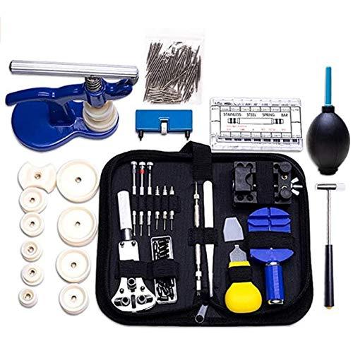 Catalpa Blume 514tlg Uhrmacher Set Werkzeug Uhrmacherwerkzeug Uhr Reparatur Set Gehäuseschließer Gehäuseöffner Uhrmacherwerkzeug
