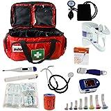 Notfalltasche Pulox Erste Hilfe Tasche DIN 13157 Diagnostik Set Blutdruckmessgerät