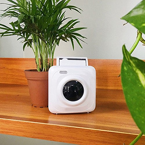 Draagbare printer Wireless Digital Printer Passprinter Partyprinter Bluetooth-printer S/W thermorol voor iPhone of Android