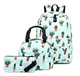 Acmebon Schulrucksack für Kinder Kaktus