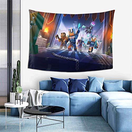 Lsjuee Min EC Ra Ft Sand Box Arazzo Soggiorno Camera da letto Decorazione College Dorm Tenda TV Sfondo Tovaglia 40 X 60 pollici.