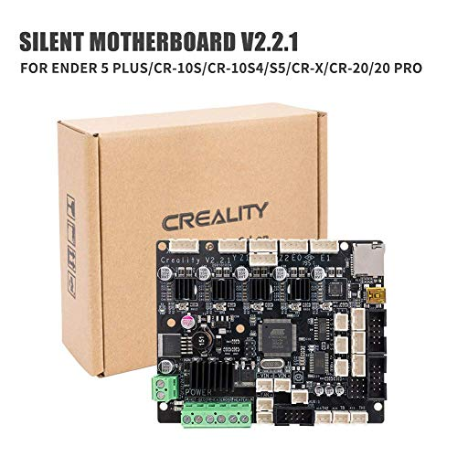 Creality V2.2 Silent Mainboard with TMC2208 Drivers BootLoader Controller Motherboard for Ender 5 Plus CR-10S/ CR-10 S4/ CR-10 S5/ CR-X/CR-20/ CR-20 PRO CR-X 3D Printer