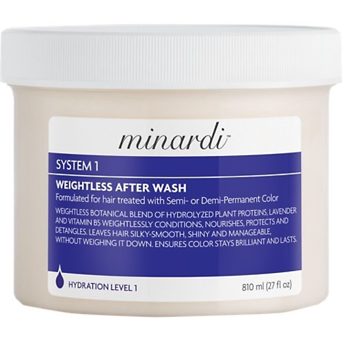 Minardi: System 1 Weightless Hair After-Wash, 27 oz