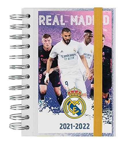 AGENDA ESCOLAR 2021-2022 Día Página Real Madrid By Kalenda
