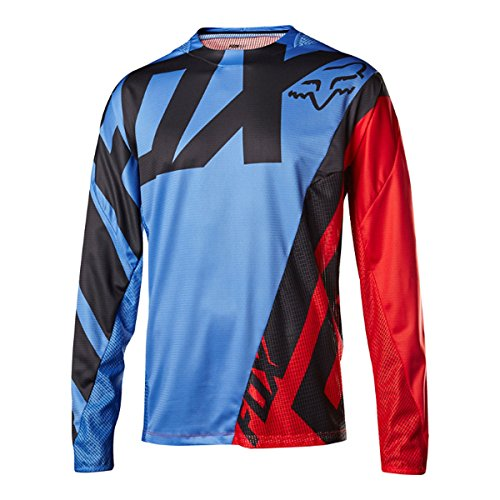 Fox Trial-Jersey Langram Demo Creo, Blue, Größe S