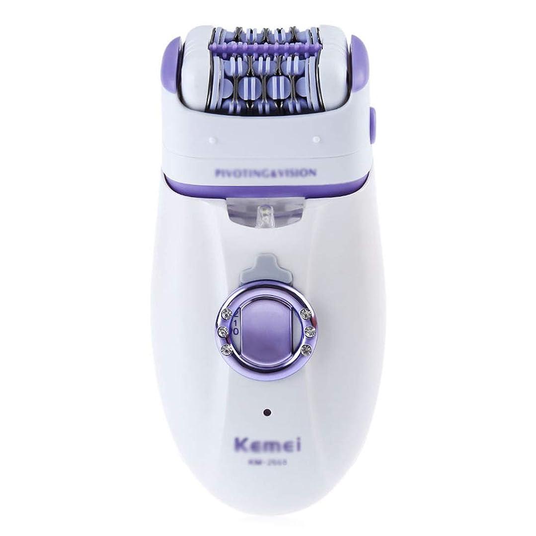 十二バーチャル活性化するコードレス電気脱毛脱毛器、充電式、防水、ポータブル脱毛カミソリ付きライト