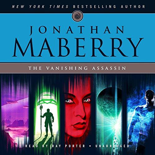 The Vanishing Assassin audiobook cover art