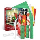 PRETYZOOM Kit de Fabricación de Velas de Cera de Abejas de Navidad Kit de...
