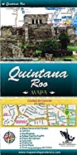 Quintana Roo State & Chetumal City Map by Ediciones Independencia (Spanish Edition)