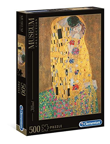 puzzle quadri Clementoni- Klimt Il Bacio Museum Collection Puzzle