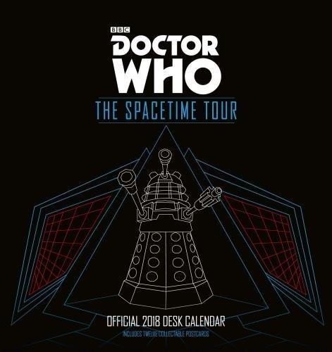 Doctor Who - Official Desk Easel 2018 Calendar