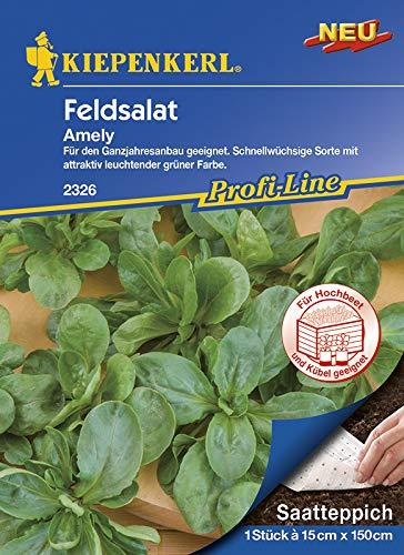 Saatteppich Feldsalat Amely (15cm x 150cm)