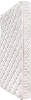 Comfort Crib Baby Mattress Sponge Toddler Bed Mattress for Baby Breathable 5-inch with Knitted Fabric Cover White, 52