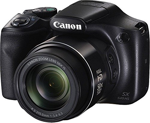 Canon PowerShot SX540HS 20.3MP Digital Camera with 50x...