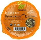 Minsley Organic Cooked Brown Rice with Quinoa Cup, 4.2 Ounce (Pack of 12)